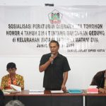 Setwan DPRD Tomohon Gelar Sosialisasi Perda 4/2014 di Matani