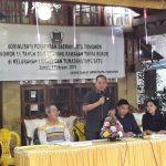 Djemmy Sundah Sosialisasikan Perda KTR Di Lansot Dan Tumatangtang