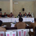 Komisi II DPRD Kota Tomohon Hearing Dinas Pertanian dan Perikanan Kota Tomohon
