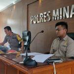 Polres Minahasa Ungkap 2Tersangka Pembunuhan Santo Warga Tataaran