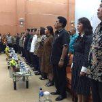 Bupati VAP Sampaikan Laporan Keuangan 2018 ke BPK RI