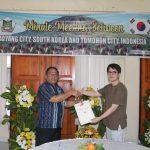 Tomohon Dan GIFF, Tandatangani MoU Goyang Flower Exhibition