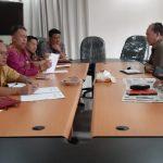 Komisi I DPRD Tomohon Hearing BKPSDM Tomohon