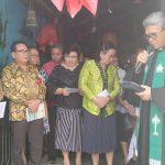 Mentu Wakili Walikota Hadiri Peletakkan Batu Pembanguan TK GMIM Maranatha Kinilow