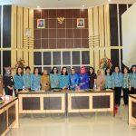 Tim Penggerak PKK Kota Tomohon Kunker Di Gorontalo