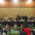 Wenur Pimpin Paripurna DPRD Pemandangan Umum Fraksi Ranperda RPJMD Tomohon 2016-2021