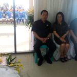 Pimpinan DPRD Kota Tomohon Melayat Ke Rumah Duka Alm. Sidonia Pusung