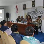 Ketua DPRD Miky Wenur, Narasumber Konsultasi Publik RKPD Tahun 2020