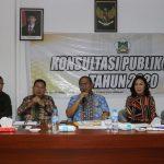 Pemkot Tomohon Gelar Konsultasi Publik RKPD Tahun 2020