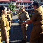 Bupati VAP Serahkan SK 166 CPNS di Minut
