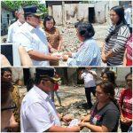 Pemkab Beri bantuan Tiga Keluarga Korban Kebakaran Rumah di Tolok Tompaso