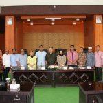 Sekretariat DPRD Tomohon Terima Kunker DPRD Ternate