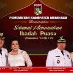 Bupati RORdan Wabub RD ucapkan  Selamat Menjalankan Ibadah Puasa