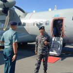 Danguskamla II Laksma TNI Iwan Isnurwanto M A P M Tr (Han) (DanGKAII) berkunjung ke Sangihe