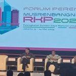 Bupati Kabupaten Sangihe Jabes Gaghana Ambil Bagian di Musrembang 2019