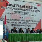 KPU Sangihe Mulai Rekapitulasi Suara Pemilu 2019