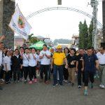 Walikota Eman, Jalan Sehat Bersama, Dalam Rangka HUT Ke 45 PPNI