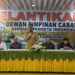 Walikota Eman Hadiri Pelantikan Pengurus Dewan Pimpinan Cabang API Kota Tomohon