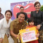 Walikota Jimmy Eman Serahkan 1114 KIS, 7 SK Pensiun Dan 240 SK CPNS