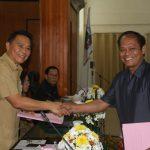 Walikota Eman Dan Wawali Sompotan Hadiri Paripurna Tutup Buka Masa Persidangan