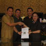 DPRD Tomohon Gelar Paripurna Penjelasan Walikota Tentang Ranperda Pengelolaan Barang Milik Daerah