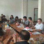 Bahas Aset Daerah, DPRD Tomohon Gelar Rapat Pembahasan Bersama Inspektorat Dan BPKPD