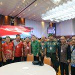 Walikota Eman Hadiri Rakornas Tim Terpadu Penanganan Konflik Tahun 2019