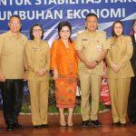 Walikota Tomohon Jimmy Eman, Hadiri High Level Meeting TPID Provinsi Sulut