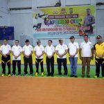 Buka Kejuaraan Volly dan Tinju Bhayangkara,  Tampi : Ini Sekaligus Untuk Seleksi Porprov