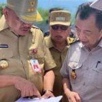 Wabup RD bersama Gubernur OD Tinjau Persiapan Pembangunan Ringroad 3