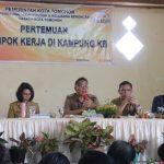 Pemkot Tomohon Gelar Pertemuan Pokja Kampung KB Kelurahan Lansot