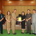 Walikota Eman Hadiri Paripurna DPRD Penjelasan Walikota Mengenai LPJP APBD 2018 Kota Tomohon