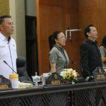 Walikota Tomohon Jimmy Eman Hadiri Paripurna DPRD LPJP APBD T.a 2018 Kota Tomohon