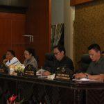 DPRD Tomohon Gelar Paripurna Mendengarkan Tanggapan Walikota Terhadapp PU Fraksi