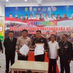Polres Sangihe Gelar Syukuran HUT Bhayangkara ke-73