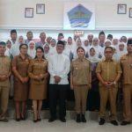 41 Jemaah Calon Haji Minahasa Utara Dilepas Bupati VAP