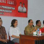BKPSDM Minahasa Gelar Assessment pejabat di Minahasa