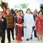 Perayaan Syukur Misa Pertama Imam Baru Pastor Carol J Sompotan, Wawali SAS: Banyak Yang dipanggil Namun Sedikit Yang Terpilih