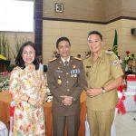 Ketua DPRD Miky Wenur, Hadiri Hari Adhiyaksa Ke -59 Tahun 2019