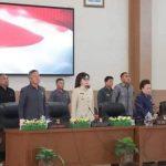 Bupati Tetty Paruntu Hadiri Paripurna Ranperda Pertanggungjawaban APBD 2018