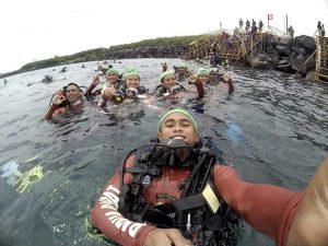 Divers Papua Barat Berpartisipasi Dalam Pemecahan Rekor Dunia
