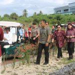 VAP Dampingi Presiden Jokowi dan Ibu Negara Tinjau Lokasi KEK Tanjung Pulisan Likupang