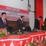 Bupati Roring -Wakil Bupati Dondokambey Hadiri Rapat Paripurna Mendengarkan Pidato Kenegaraan Presiden