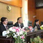 Walikota JFE Dan Wawali SAS Hadiri Paripurna DPRD Mendengarkan Pidato Presiden RI, RUU APBN 2020