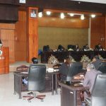 Walikota Eman Hadiri Paripurna Penjelasan Walikota Ranperda APBD 2020
