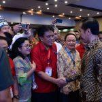 Konas FK PKB PGI Sukses, Jokowi Apresiasi Pengurus FK PKB PGI