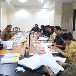 Banggar DPRD Rapat Pembahasan Dengan TAPD