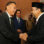 Walikota JFE Hadiri Sertijab Kepala Perwakilan BPK Sulut