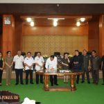 Walikota Dan Ketua DPRD Tandatangani KUA PPAS T.a 2020