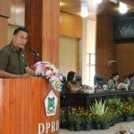 Walikota JFE Tanggapi Pemandangan Umum Fraksi Pada Paripurna DPRD